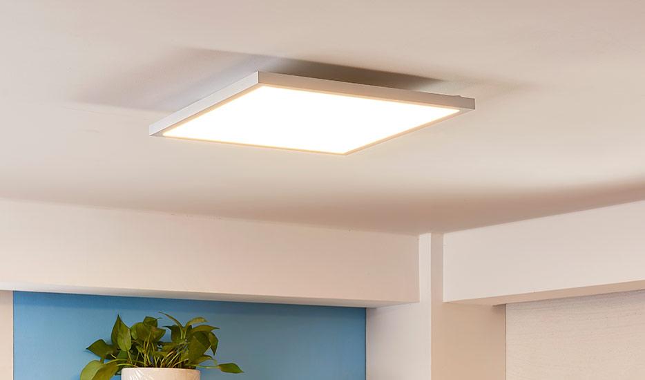 """LED-panelen zijn anders dan """"normale"""" plafondlampen?"""